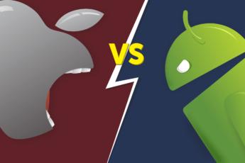 Противостояние iOS против Android