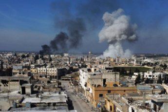 Обзор карты боевых действий в Сирии