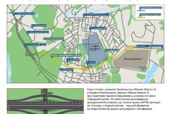 Восточная объездная дорога Томск на карте
