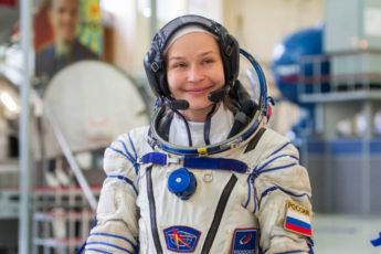 Юлия Пересильд И Клим Шипенко в космосе